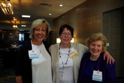 Mary Millard (guest speaker), Linda Lybert, Glenda Schuh